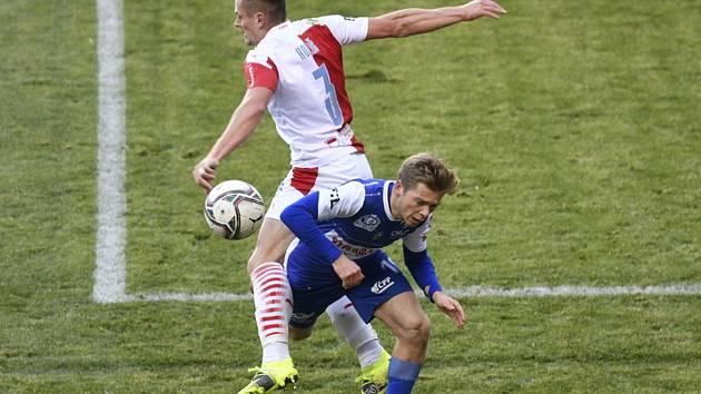 Slavia Praha - FK Pardubice - Utkání 19. kola první fotbalové ligy.