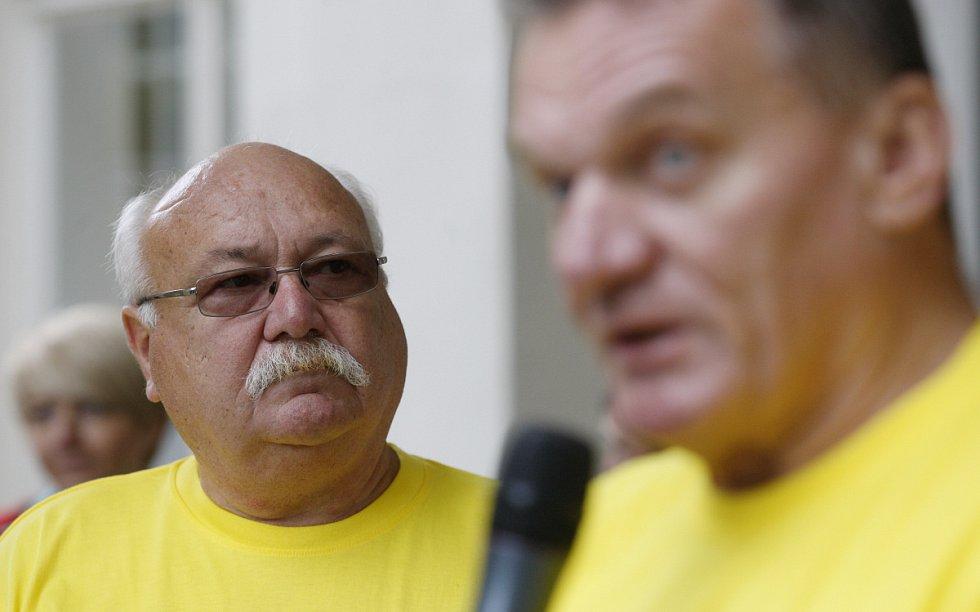 Na snímku ředitel odboru bezpečnosti a krizového řízení MHMP Petr Beran.