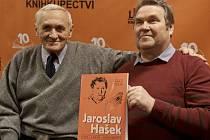 Křest knihy o Jaroslavu Haškovi
