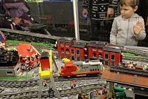 Výstava modelů z Lego kostek na Výstavišti Holešovice.
