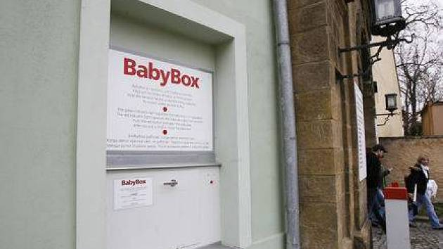 Babybox GynCentra v Praze Hloubětíně.