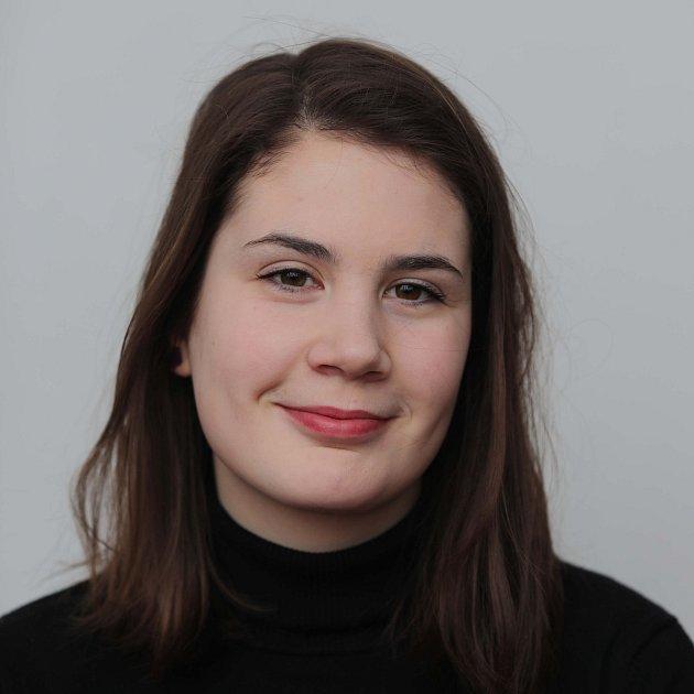 Gymnázium Jana Keplera - studentka Beata Mrazíková.