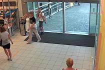 Krádež v supermarketu