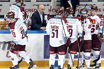 Hokejisté Sparty podlehli Olomouci 2:4.