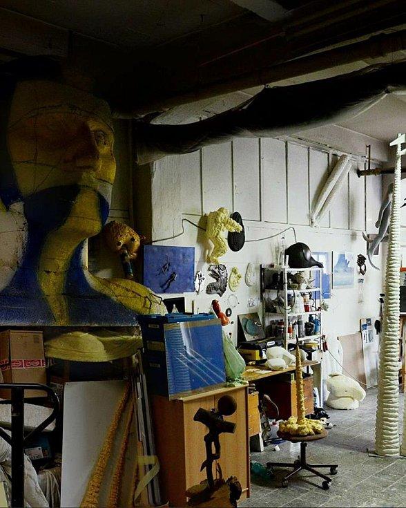 Takto vypadá ateliér umělce Šimíčka