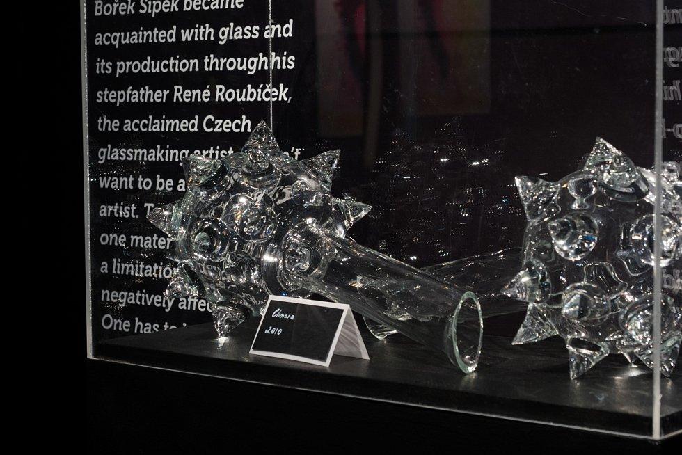 Retrospektivní výstava díla Bořka Šípka v Galerii Tančící dům.