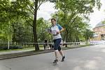 O2 štafetový běh ve Stromovce.