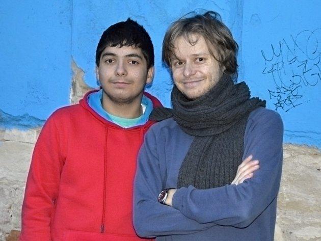 Marek a Ivo Dostál (zleva) spolu nejčastěji vyráží do přírody kousek za Prahou. Kamarádí spolu prostřednictvím programu Pět P už tři roky.