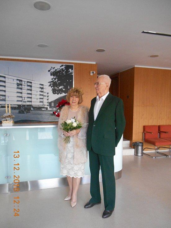 Svatba Dr. Chrastila se Zdeničkou.