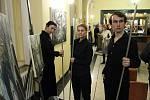 Vernisáž výstavy Malíři v proudech času.