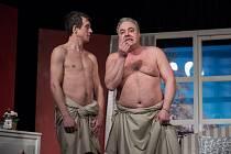 Divadlo Kalich dnes uvádí hru Dva nahatý chlapi