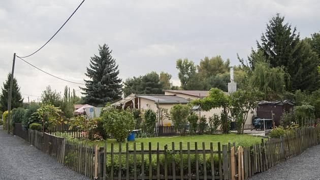 Zahradkářská kolonie v pražské Libni.
