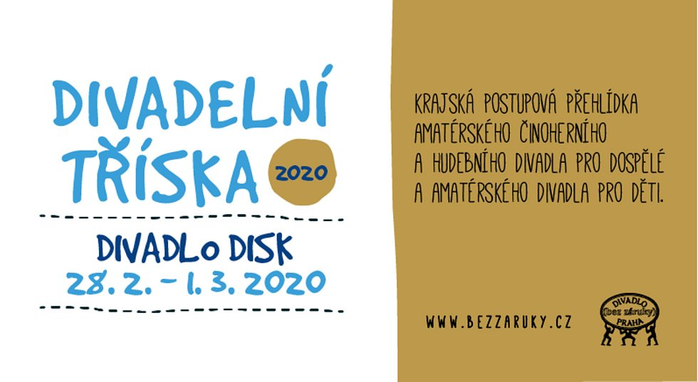 Pozvánka na Divadelní Třísku 2020