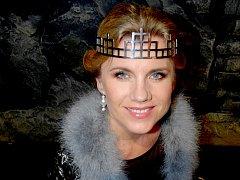 Leona Machálková v roli Gertrudy v muzikálu Hamlet