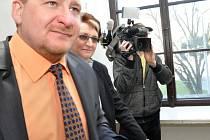 Spolupracující obžalovaná Ivana Salačová.