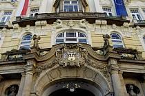 Budova Ministerstva pro místní rozvoj v Praze.
