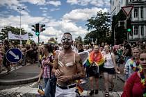Pochod Prague Pride prošel 11. srpna 2018 centrem Prahy.