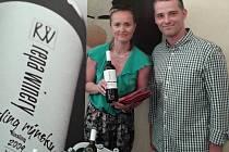 Jozef Repa, majitel vinařství Repa Winery - vítěz ceny o nejoblíbenější vinařství.
