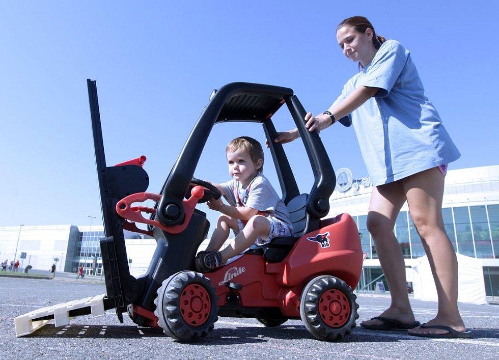 6. ročník Linde Ještěrka Cup se konal na parkovišti před O2 Arenou