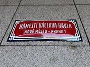 Náměstí Václava Havla.