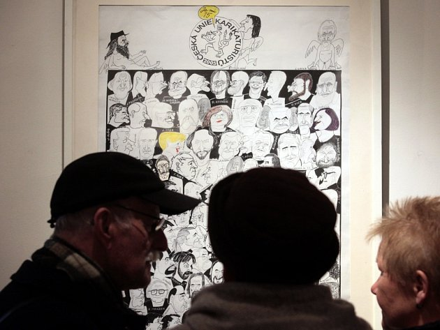 Praha A Kreslene Vtipy Karikaturiste Slavi Petadvacetilete Vyroci