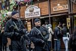 Velikonoční trhy na Staroměstském náměstí v Praze byly v roce 2017 kvůli hrozbě terorismu pod zvýšenou kontrolou