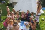 Nejmenší děti mohou i v Praze zažít a poznat přírodu na vlastní kůži.
