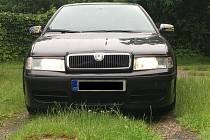 Odcizená Škoda Octavia.