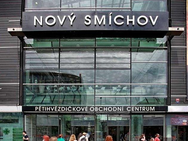 Obchodní centrum Nový Smíchov v Praze na Andělu.