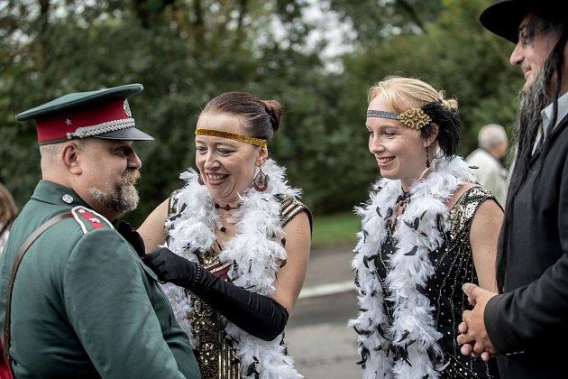Prvorepublikový den 2. září 2018 na pražském Vítkově.