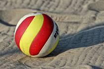 Beach volejbal. Ilustrační foto.