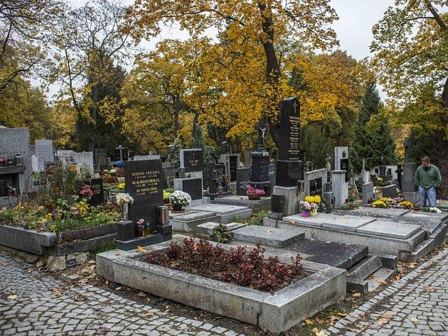 Břevnovský hřbitov.