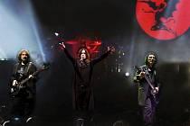 Z koncertu kapely Black Sabbath.