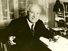 Věhlasný humanista a zakladatel Milíčova domu Přemysl Pitter.