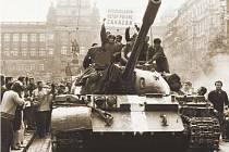 Vojska států Varšavské smlouvy v Praze v srpnu 68.