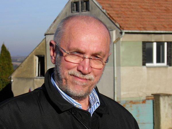 Milan Hofman, starosta Přední Kopaniny.