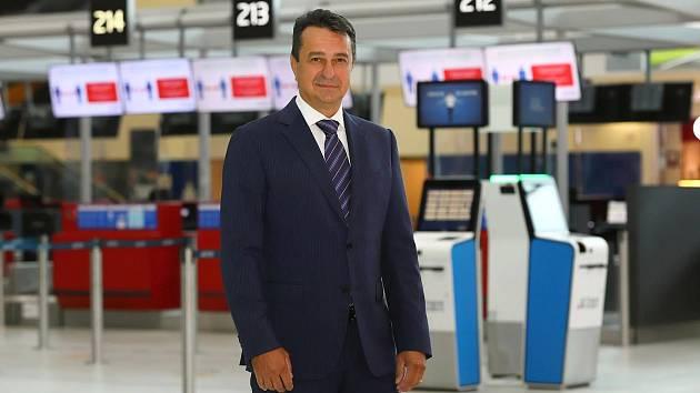 Jiří Pos začal šéfovat pražskému letišti v srpnu 2021.