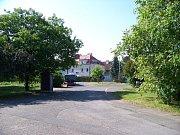 Zelený pruh - autobusová otočka Zemanka.