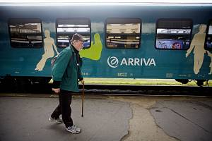 Společnost Arriva vlaky zahájila 23. září zkušební provoz na trase Praha-Masarykovo nádraží – Kralupy nad Vltavou