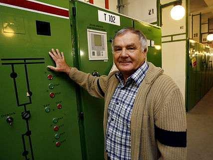 Energetik Jiří Pomahač strávil v Pražské energetice celý profesní život.
