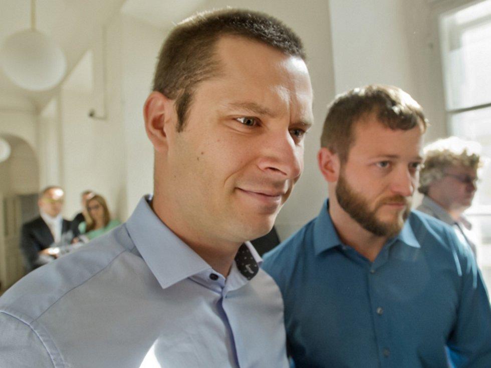 Lukáš Kočer a Petr Michálek.