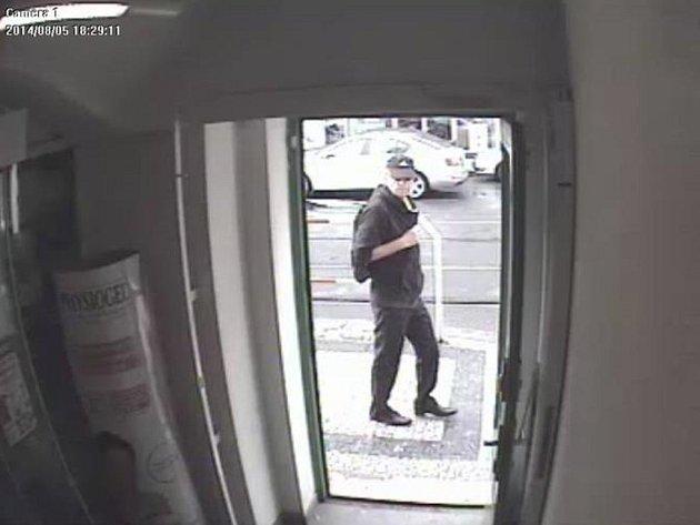 Muž podezřelý z vyloupení lékárny