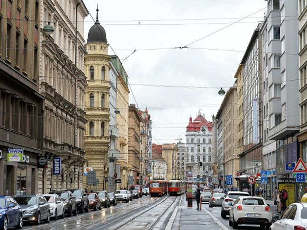 Revoluční ulice v Praze. Ilustrační foto.