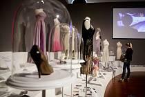 Výstava o Marilyn Monroeové.