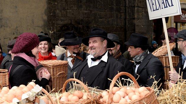Loňských vajíčkových slavností se účastnila i primátorka Adriana Krnáčová