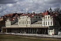 Nádraží Praha-Dejvice.