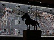 Generální zkouška SIGNAL festivalu - instalace Karlín. Kasárna Karlín.