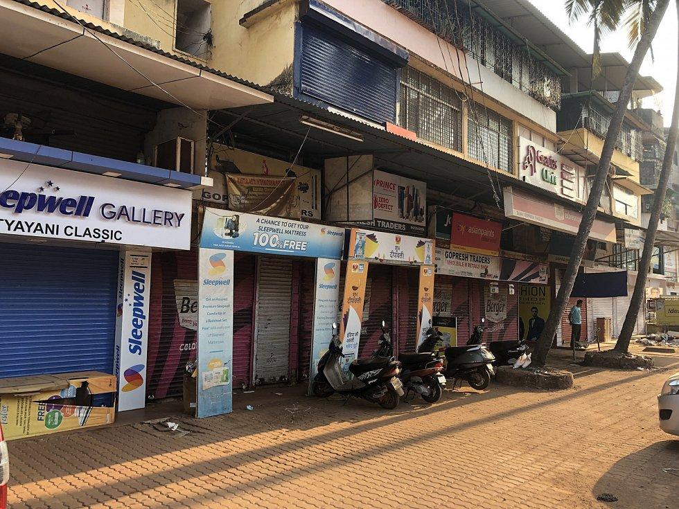 Goa v době zákazu vycházení.
