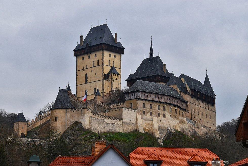 Výlet na hrad Karlštejn a jeho krásné okolí.