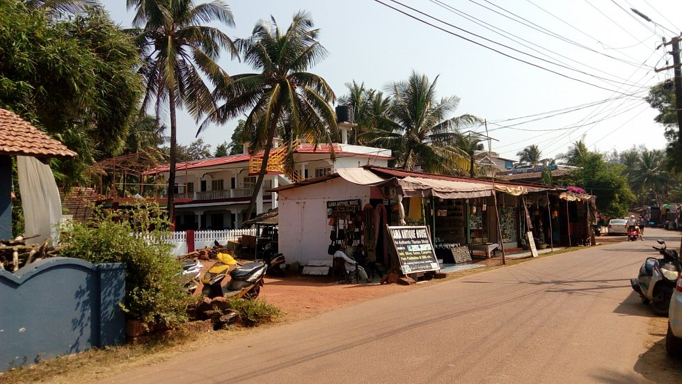 Poklidná Goa v únoru 2020. Vše si žilo svým životem, že za měsíc přijde zákaz vycházení nikoho nenapadlo.